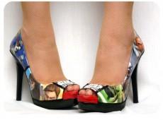 Комикс обувки