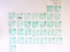 Календар с водни бои