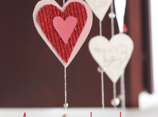 Украса за св.Валентин