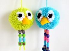 Помпони- птички