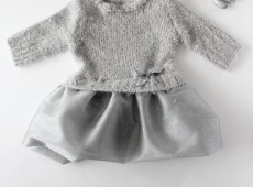 Пуловер и тюлена рокля