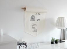 Банер от хартиена ролка