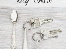 Сребърен ключодържател
