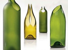 Как да отрежем стъклена бутилк