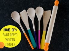 Боядисани бъркалки и точилки