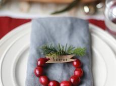 Коледни парти 'табелки'