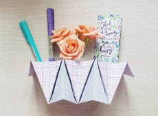 Оригами органайзер
